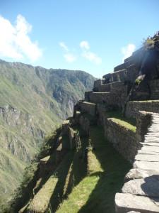Inca Terraces, Machupicchu