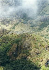 Inca trail ruins, Peru