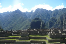 Inca citadel and terraces