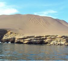 Paracas, Pisco, el Candelabro, Peru