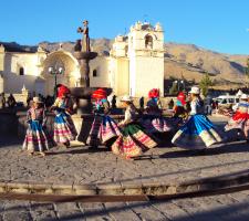 Wititi dance, Yanque, Colca, Peru